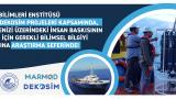 ODTÜ Marmara Denizi'nin Geleceği İçin Çalışmalar Gerçekleştiriyor